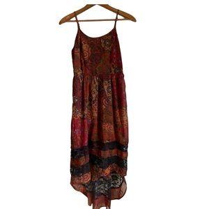 Band of Gypsies boho dress xs